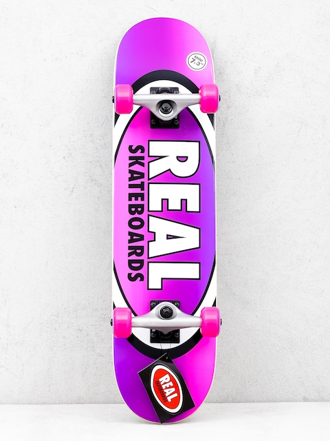 Real Fades Skateboard (purple/pink)