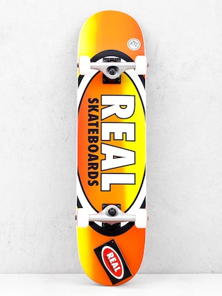 Real Fades Skateboard (orange/yellow)
