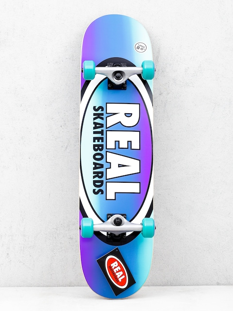 Real Fades Skateboard (purple/teal)