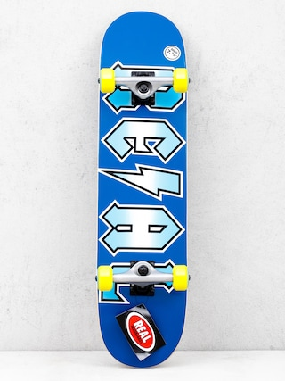 Real Deeds Metallics Skateboard (blue)