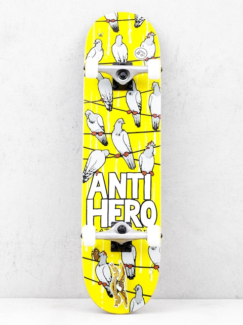 Antihero Conferrnce Call Skateboard (yellow)