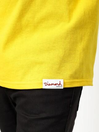 Diamond Supply Co. Og Script Fasten T-shirt (yellow)