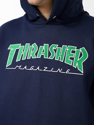 Thrasher Outlined HD Hoodie (navy)