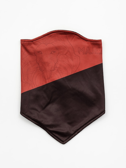 Majesty Facemask Lionq Bandana (red/black)