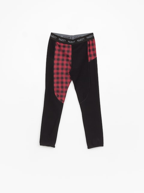 Majesty Srface Lady Pants Lumberjack Underwear Wmn (red/black)