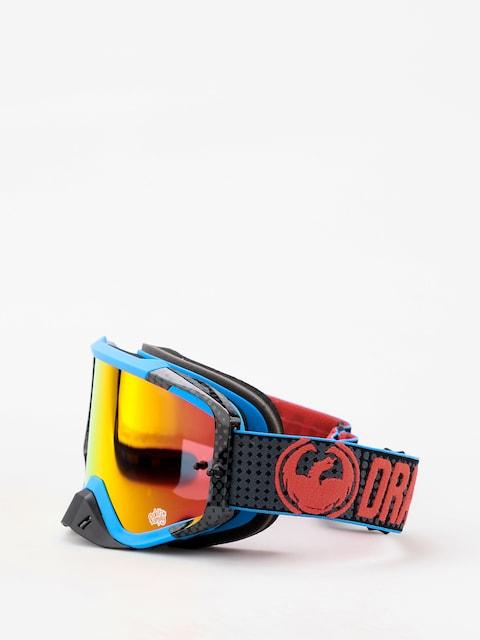 Dragon MXV MAX Goggles (nateadams/lumalens red ion clear)