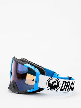 Dragon MXV MAX Goggles (factory/lumalens flash blue clear)