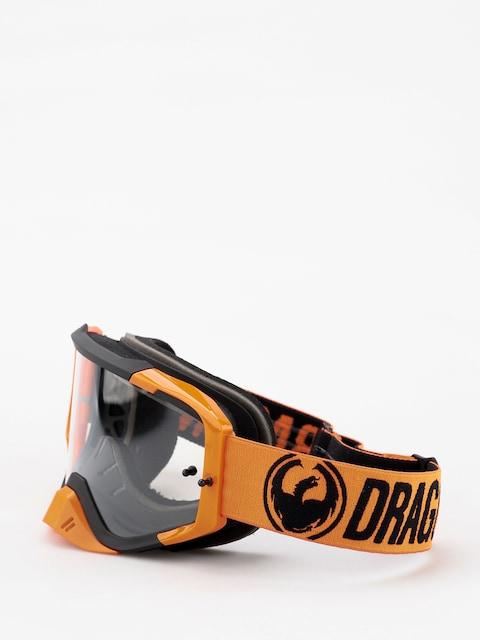 Dragon MXV MAX Goggles (break orange/clear)