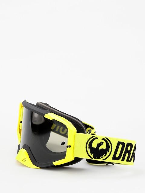 Dragon MXV MAX Goggles (highvis/smoke)