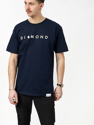 Diamond Supply Co. Marquise T-shirt (navy)
