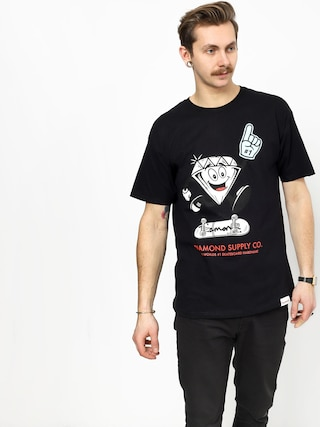 Diamond Supply Co. Number 1 T-shirt (black)