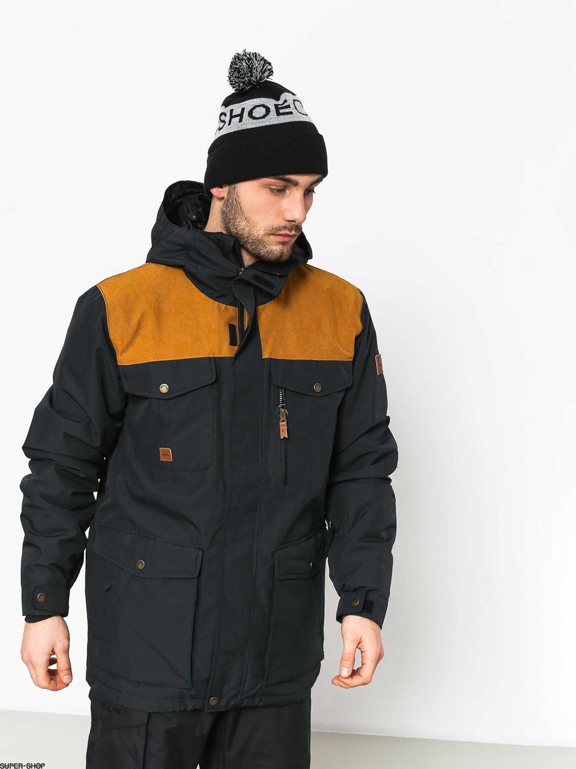 Quiksilver Raft Snowboard Jacket Black