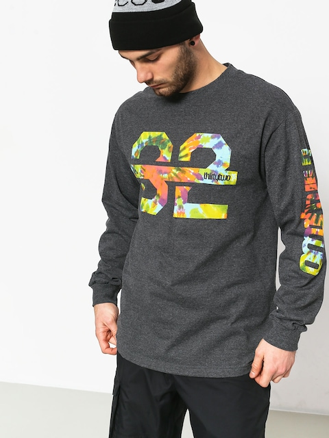 ThirtyTwo Ridelite Graphic Longsleeve (charcoal/heather)