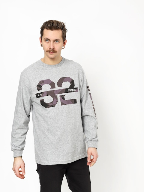 ThirtyTwo Ridelite Graphic Longsleeve (grey/heather)