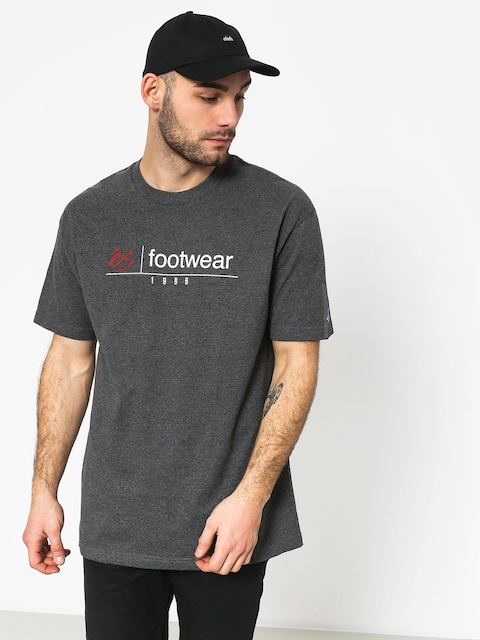 Es Heritage Stack T-shirt (charcoal/heather)
