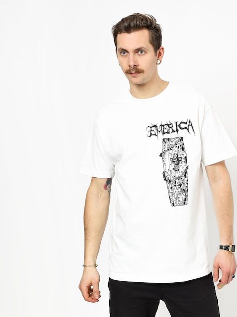 Emerica Coffin T-shirt (white)