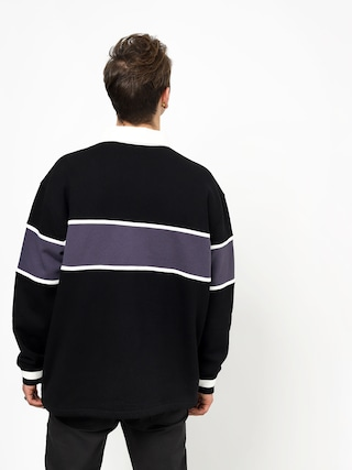 Analog Squarugby Sweatshirt (true black)