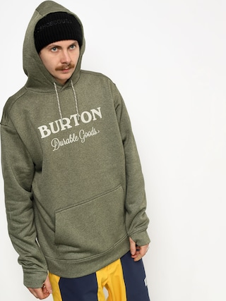 Burton Oak HD Hoodie (clover heather)