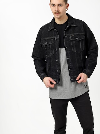 Brixton Cable Denim Jacket (black)