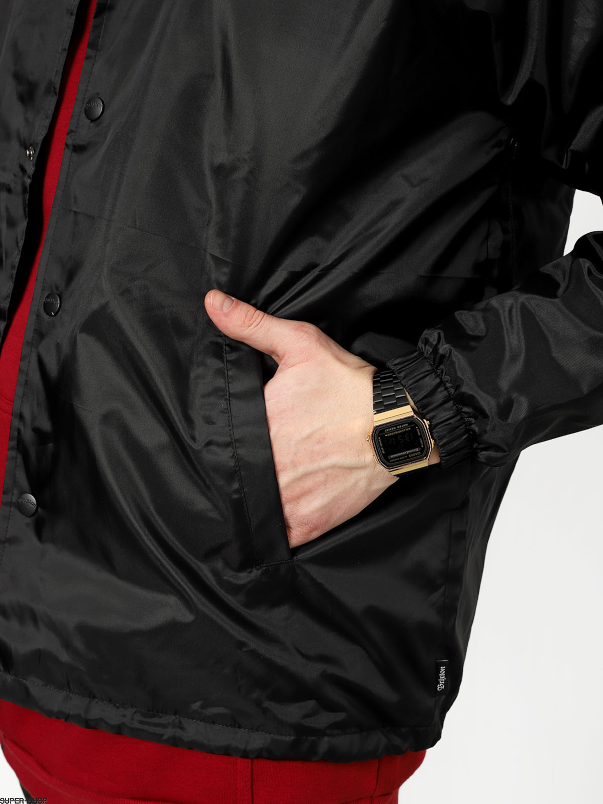 f3df5fc95 Brixton Wedge Jacket (black/bronze)
