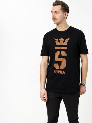 Supra Champ T-shirt (black/tan)