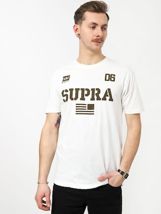 Supra Team Usa T-shirt (white/dk olv)
