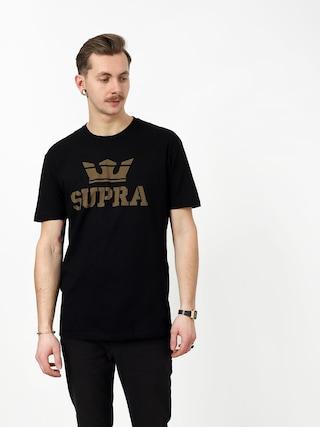 Supra Above Regular T-shirt (black/dk olv)