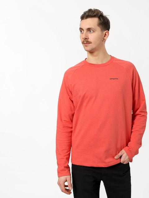 Patagonia Logo Lw Sweatshirt (spiced coral)