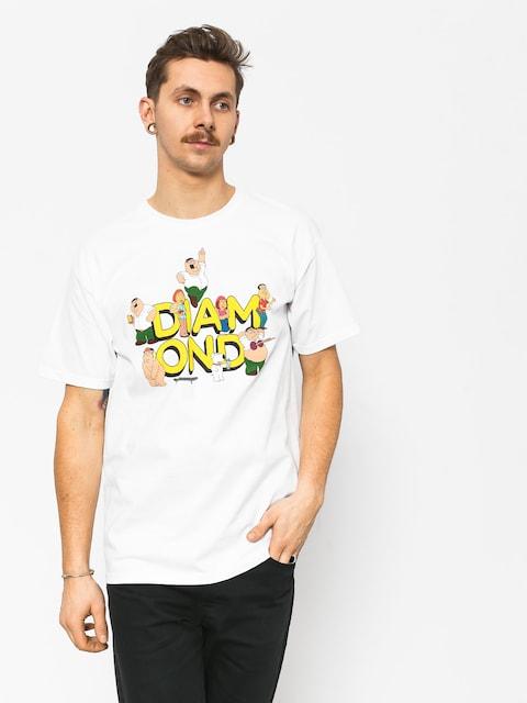 Diamond Supply Co. Diamond X Family Guy T-shirt