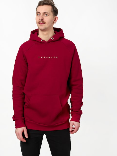 The Hive Hive HD Hoodie (burgundy)