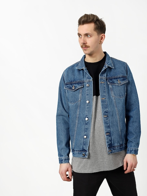 The Hive Denim Trucker Jacket (stone washed)