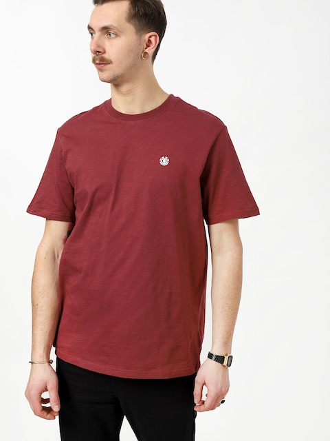 Element Crail T-shirt (oxblood red)