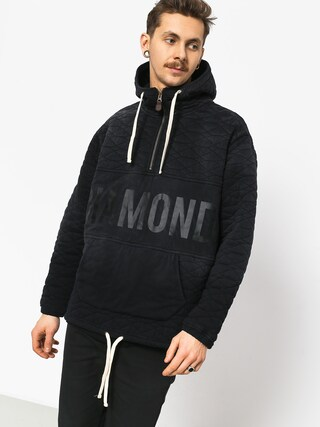 Diamond Supply Co. Quilted HD Hoodie (black)