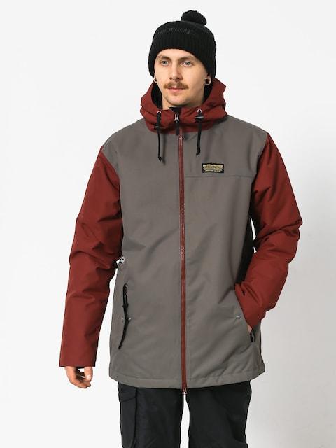 Airblaster Toaster Snowboard jacket (grey oxblood)