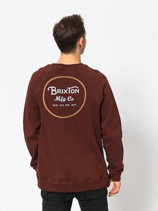 Brixton Wheeler Intl Crew Sweatshirt (chestnut)
