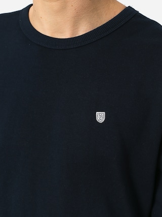 Brixton B Shield Crew Sweatshirt (navy)