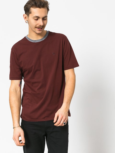 Brixton B Shield Prt T-shirt (chestnut)