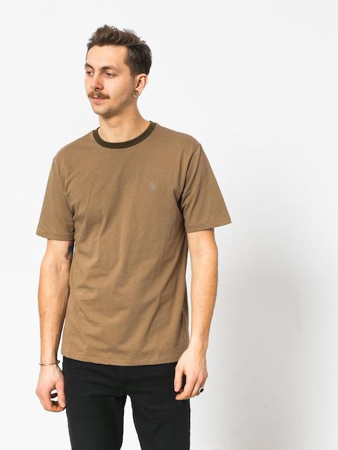 Brixton B Shield Prt T-shirt (dusty olive)