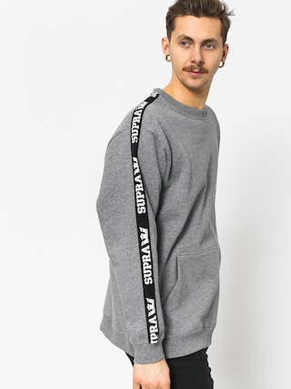 Supra Streeter Sweatshirt (grey heather/blk)