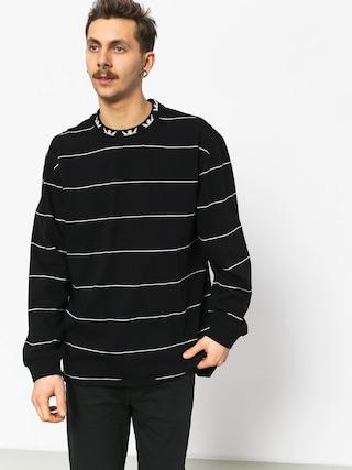 Supra Banded Crew Sweatshirt (black/bon)