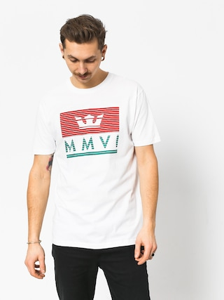 Supra Crown Jewel T-shirt (white/red/tea)