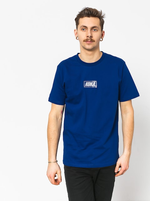 Koka Clarity Boxlogo T-shirt (navy)