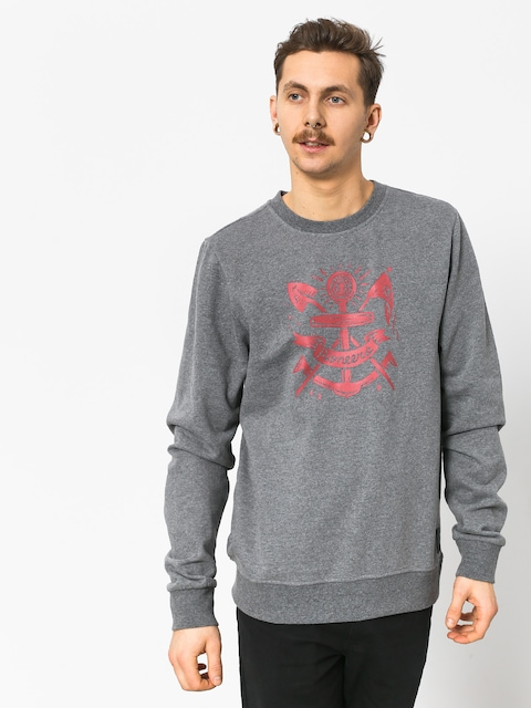 Element Pioneers Crew Sweatshirt (grey heather)