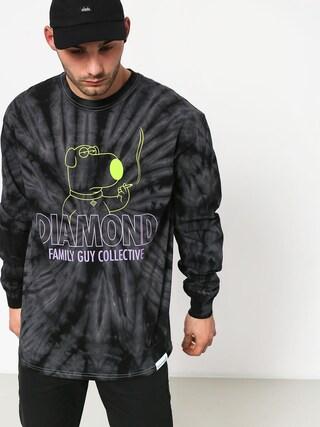 Diamond Supply Co. Dmnd Family Guy Collective Tie Dye Longsleeve (black)