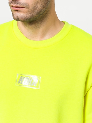 Koka Clarity Boxlogo Sweatshirt (green)