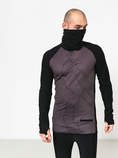 Majesty Surface Base Layer Top Crow Active longsleeve (black/graphite)
