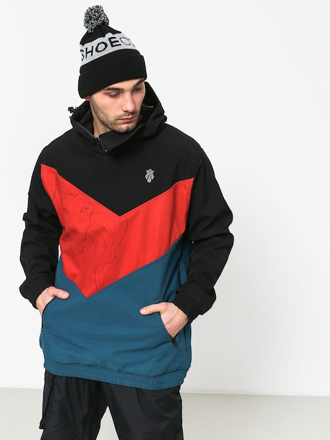 Majesty Shadow Lion Snowboard jacket (black/red/blue)