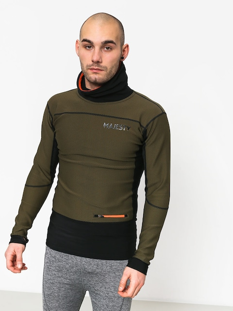 Majesty Heatshield Mid Layer Active longsleeve (green/black)