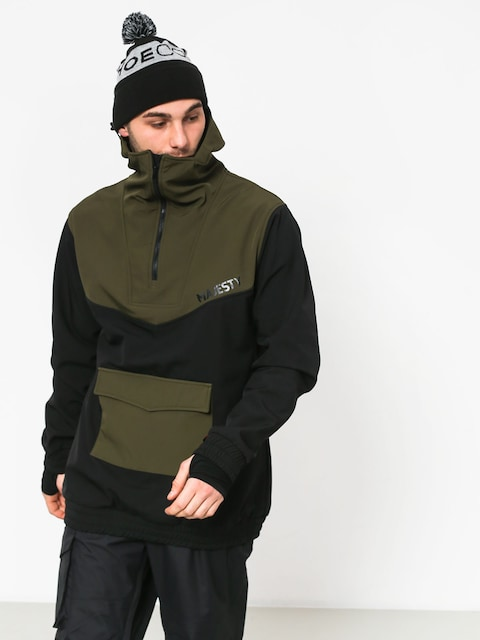 Majesty Anorak Snowboard jacket (black/green)