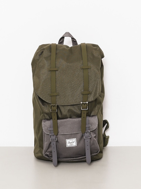 Herschel Supply Co. Backpack Little America (ivy green/smoked pearl)